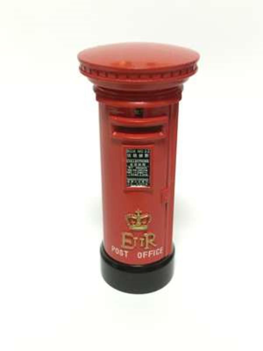 香港合金模型系列 HH022 香港郵政 - 紅郵箱 Red Post Boxes