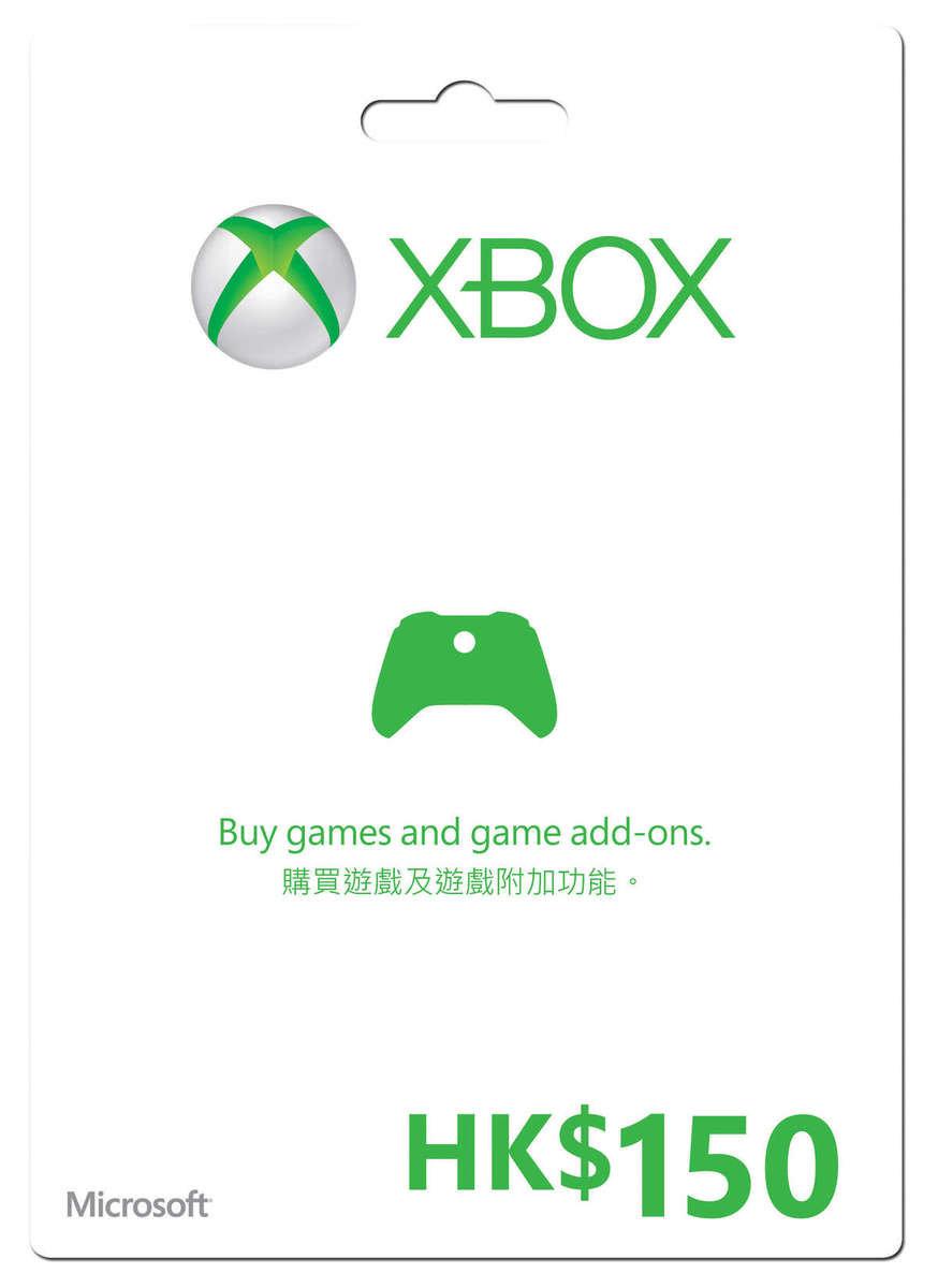 Xbox Live $150禮品卡