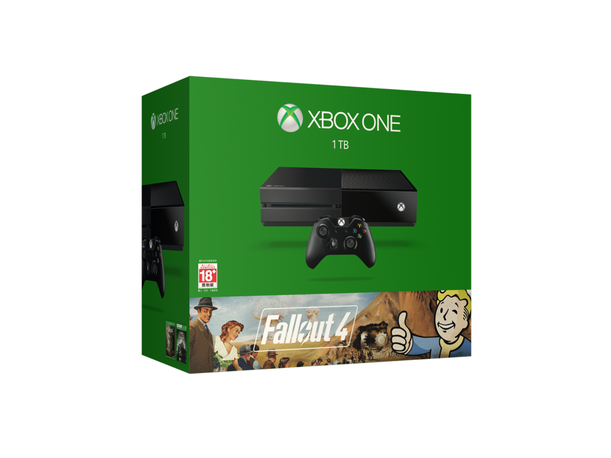 Xbox One《Fallout 4》1TB 主機套裝