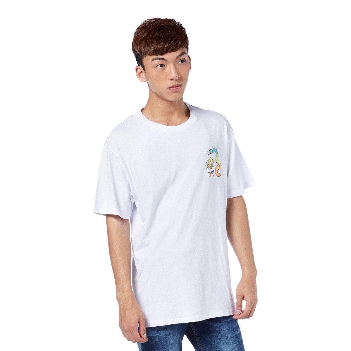 趣怪公仔圖案短袖T-shirt