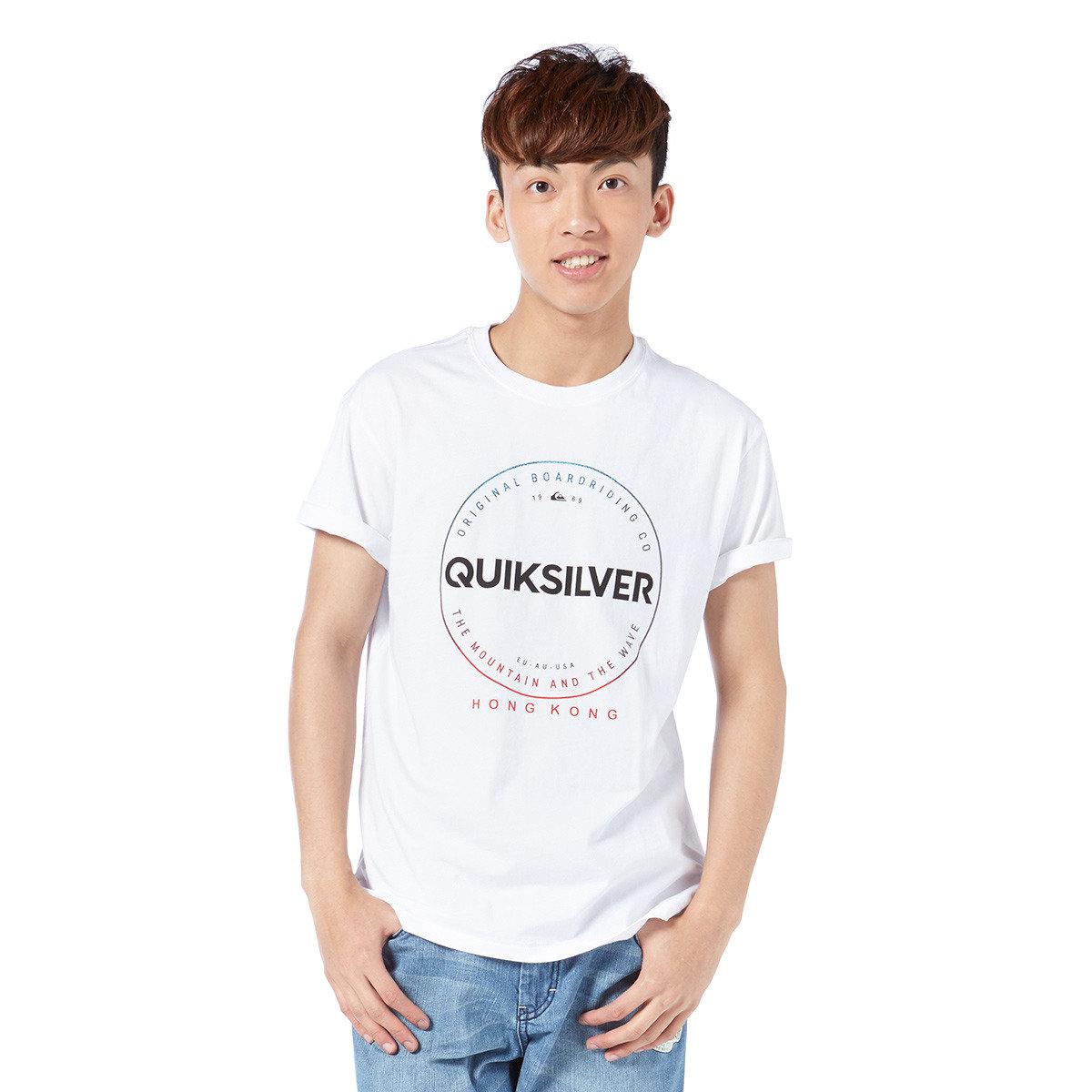 簡約印章短袖T-Shirt