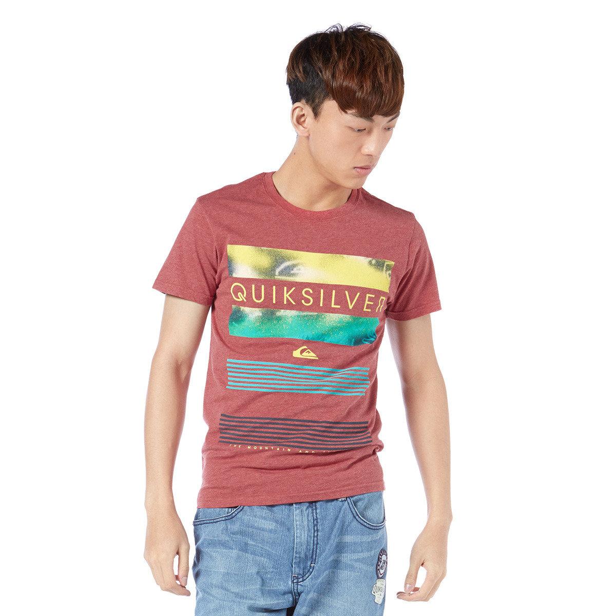 彩色圖案印花短袖T-Shirt