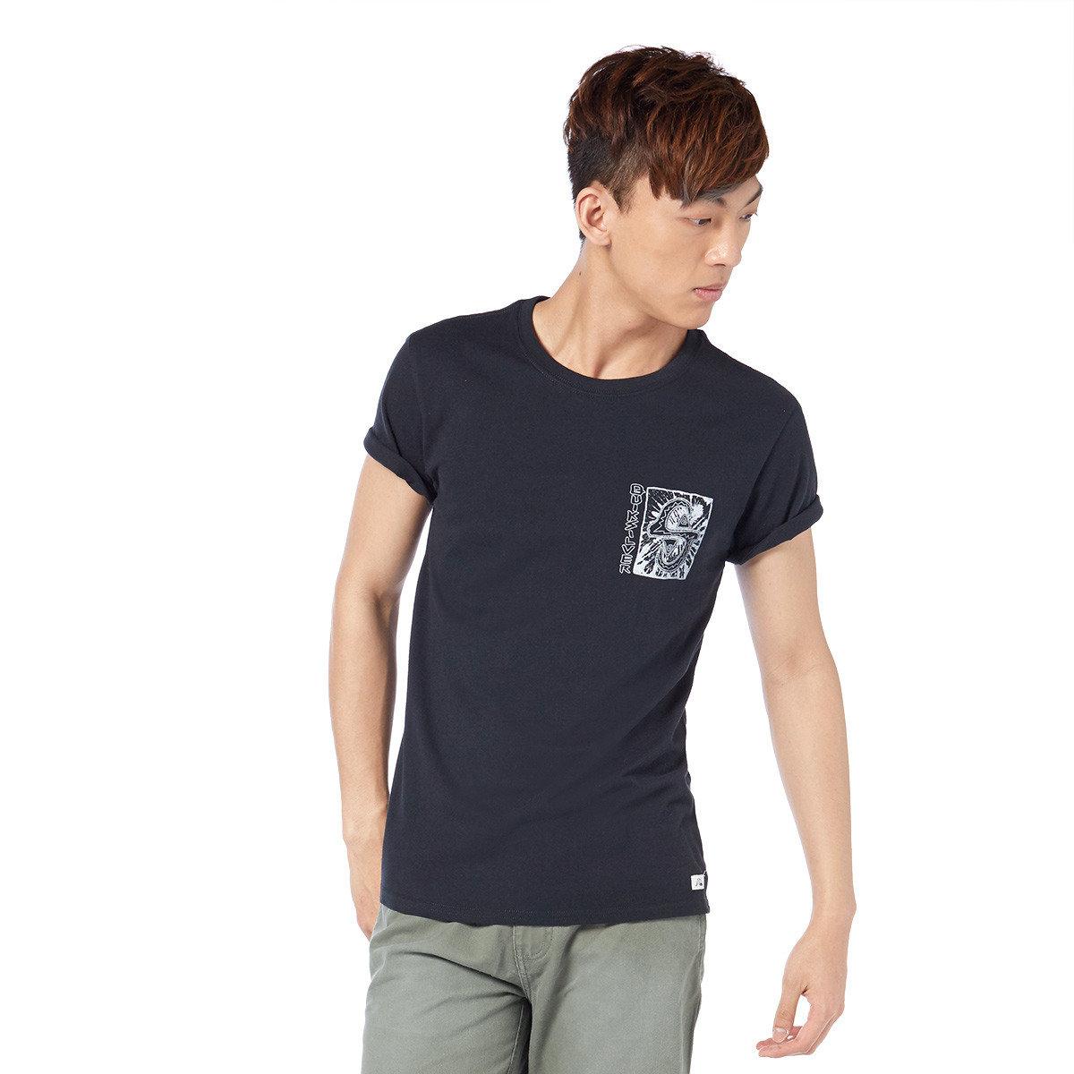 異國抽象圖案短袖T-shirt