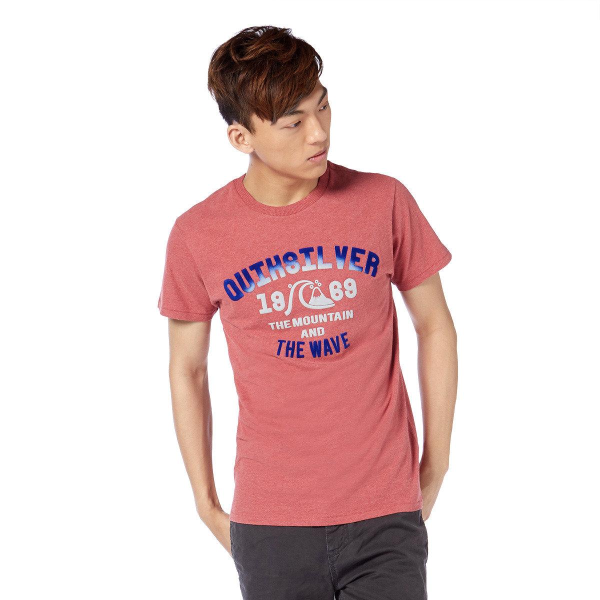 漸變立體Logo印花短袖T-shirt