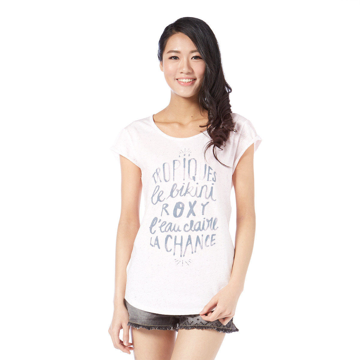 休閒文字短袖T-Shirt