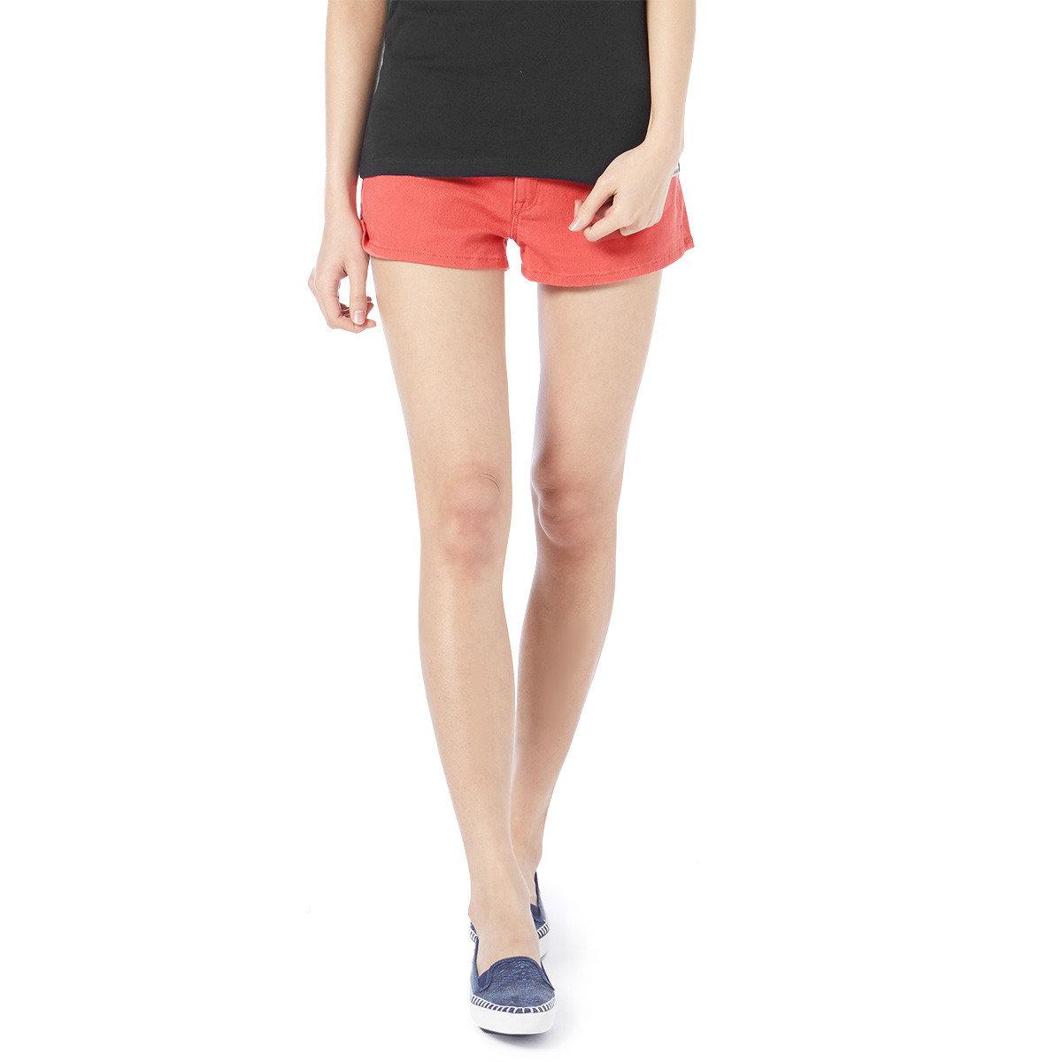 淨色休閒短褲