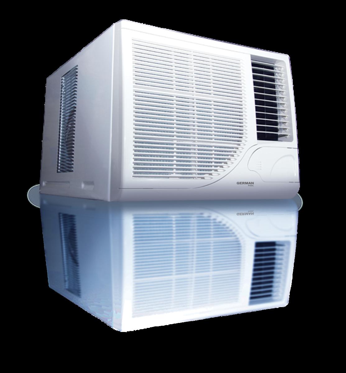 窗口式空調 (1½ 匹)