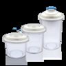 電動真空儲物罐套裝(3件裝) - 藍色