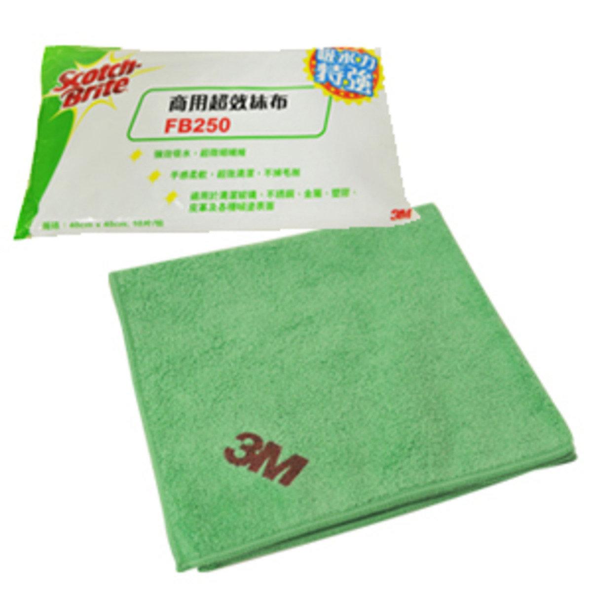 多功能微纖抹布10條裝 (綠色)(FB250BGGREEN)