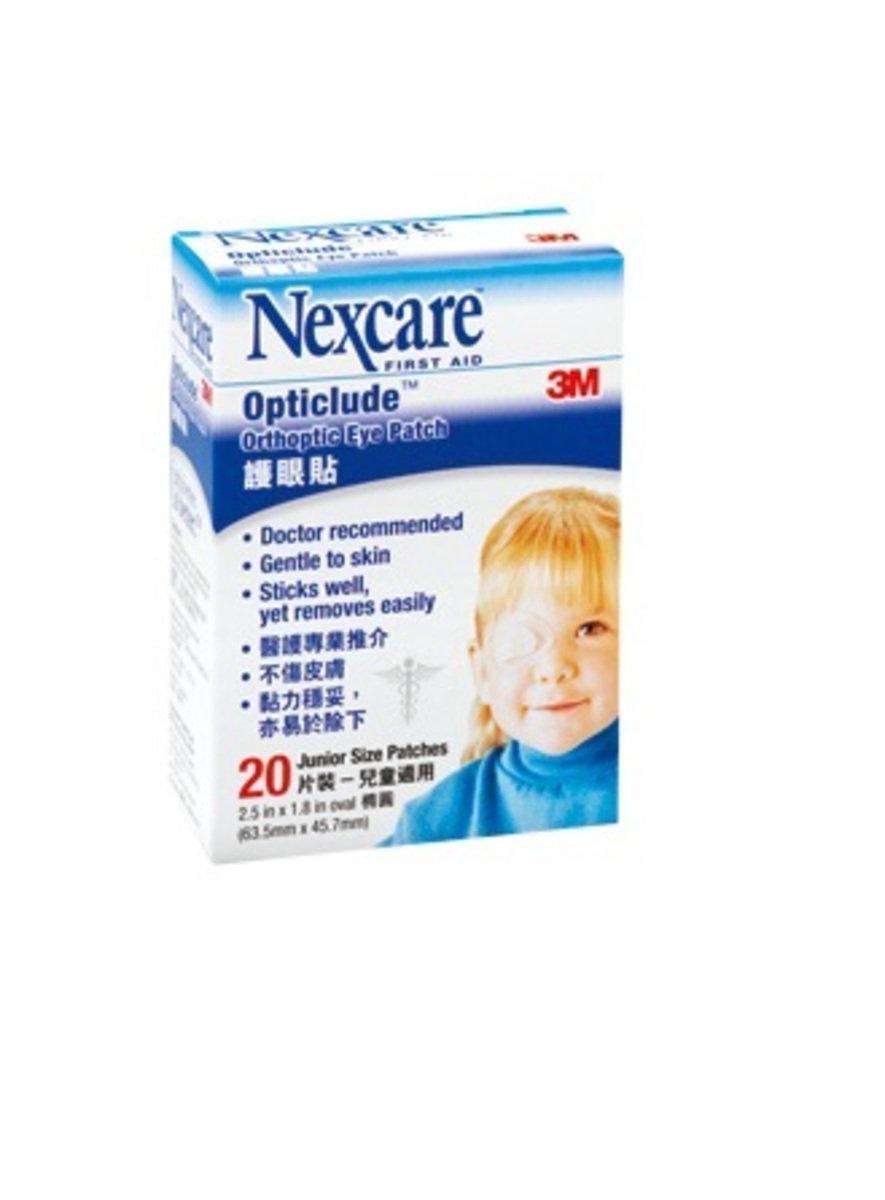 """Nexcare™ 兒童護眼貼2.5x1.8""""(4891203101511)"""