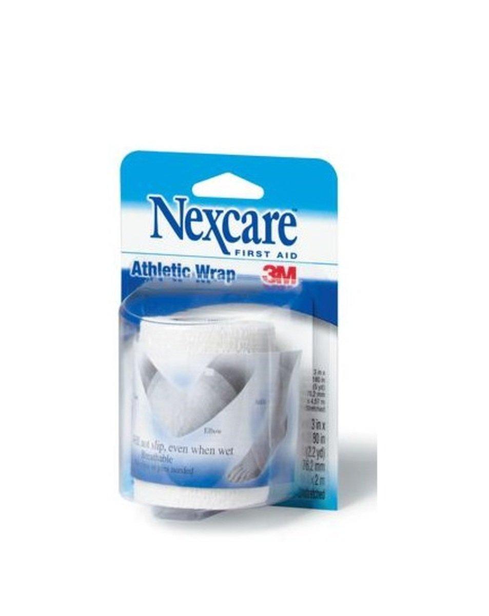 "Nexcare™ 自黏彈性繃帶白色,3""x2.2yd(4891203101917)"