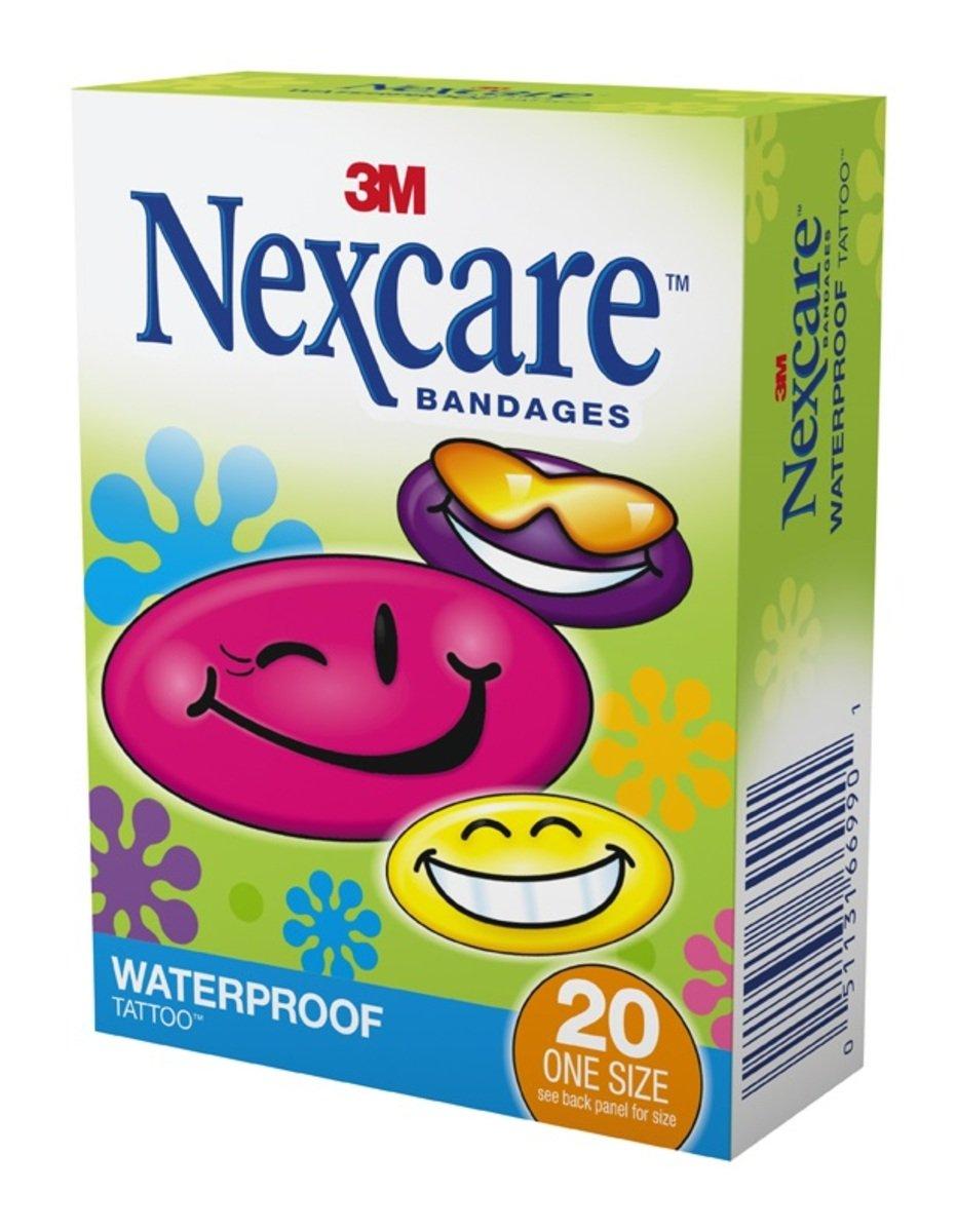 Nexcare™ Cool 卡通防水膠膜20片(51131669901)
