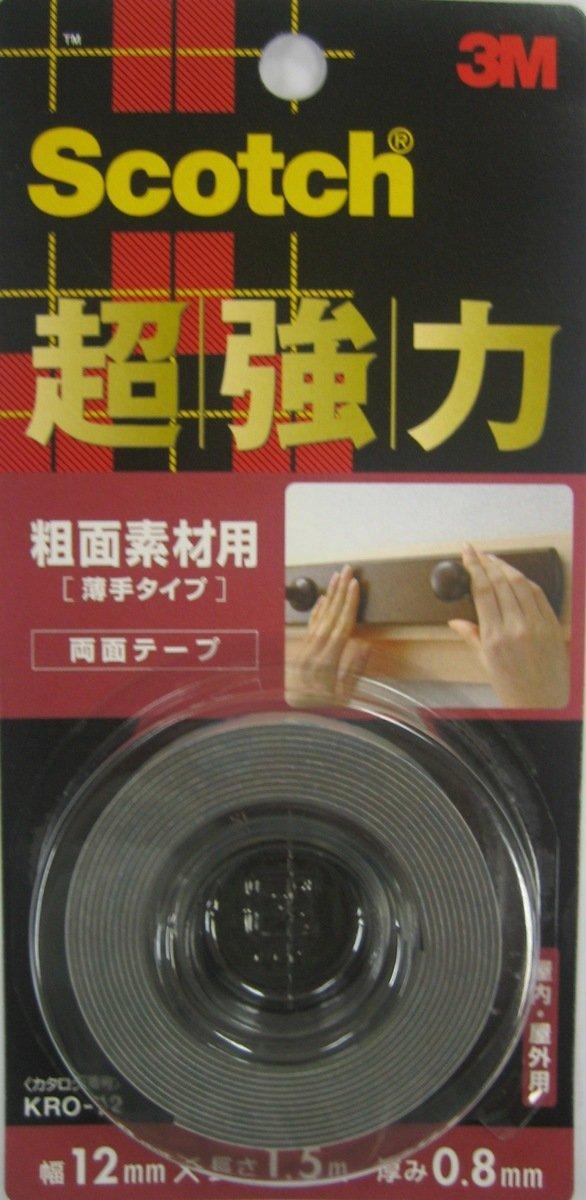 超強力雙面膠貼- 一般材料用(KRO-12)