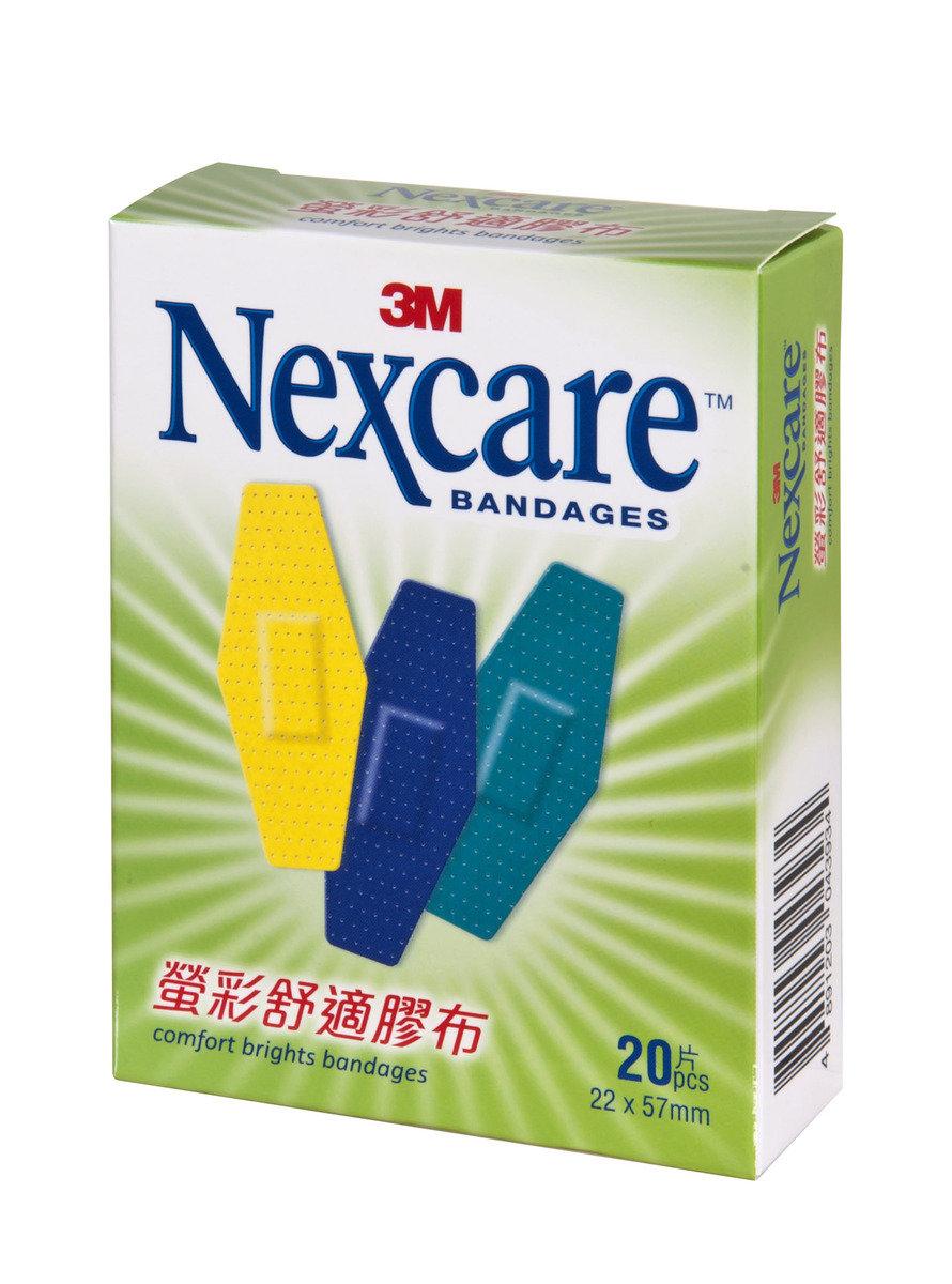Nexcare 螢彩舒適膠布20片(CB20)