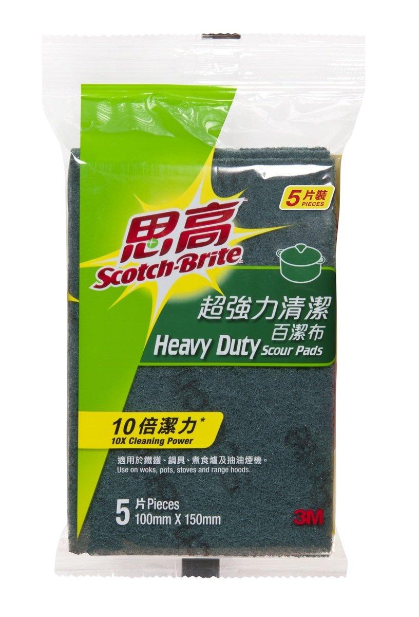 思高超強力清潔百潔布   (5片裝)(105HK)