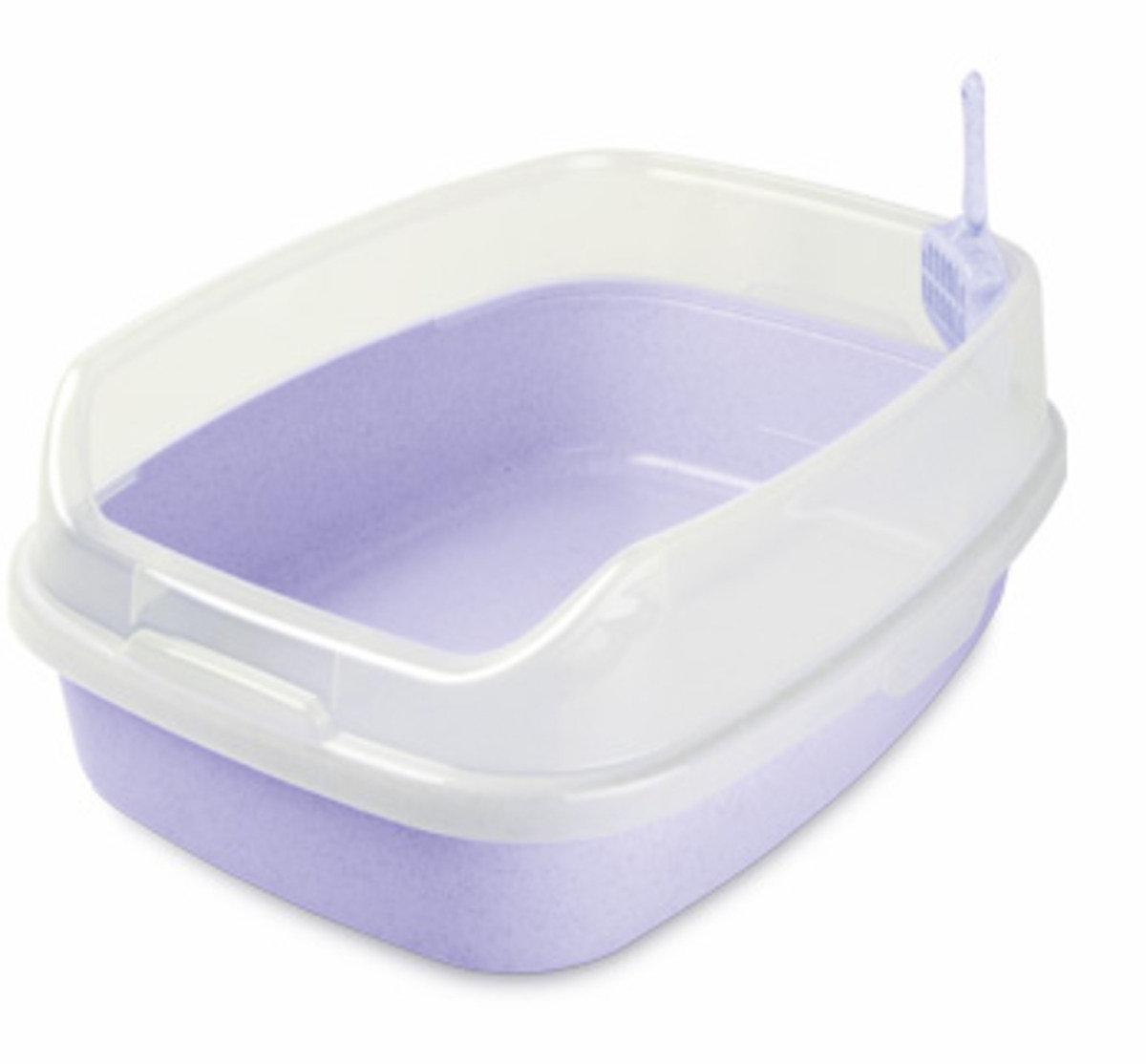 特大豪華無蓋貓廁所(紫色)
