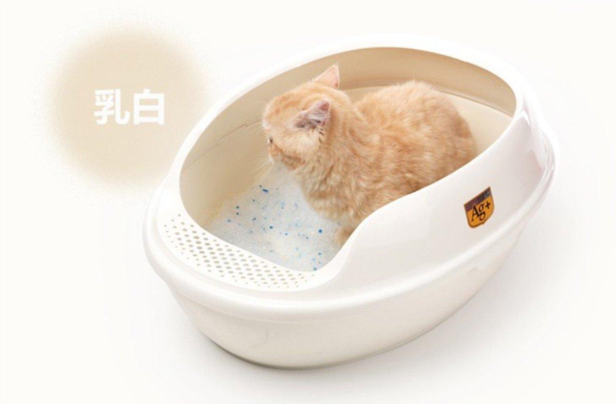 抗菌貓廁所 (白色)