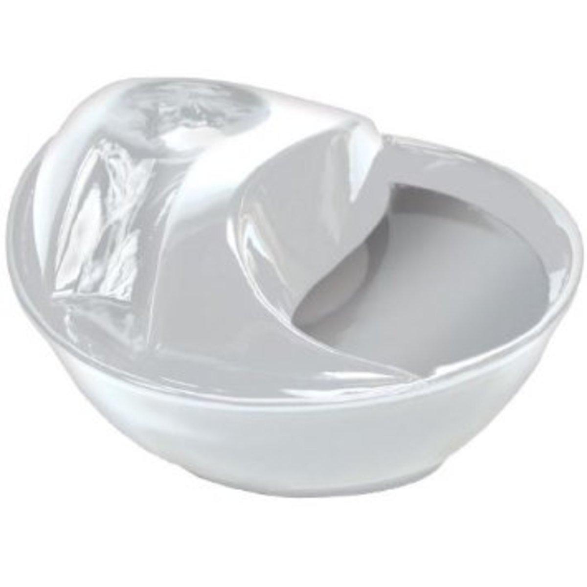 白色陶瓷寵物飲水機 (優惠套裝)