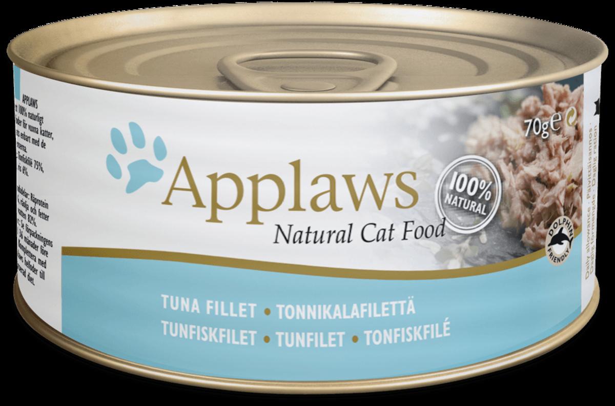 吞拿魚塊貓罐頭 70g (10罐裝)