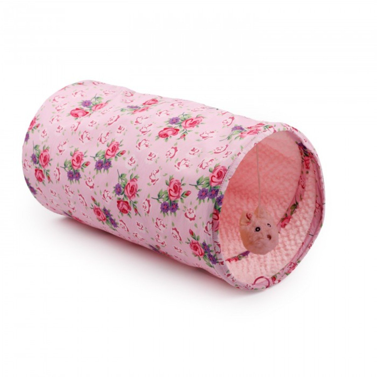 粉紅碎花貓隧道