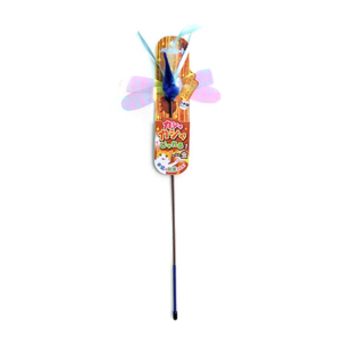 幻彩蜻蜓逗貓棒