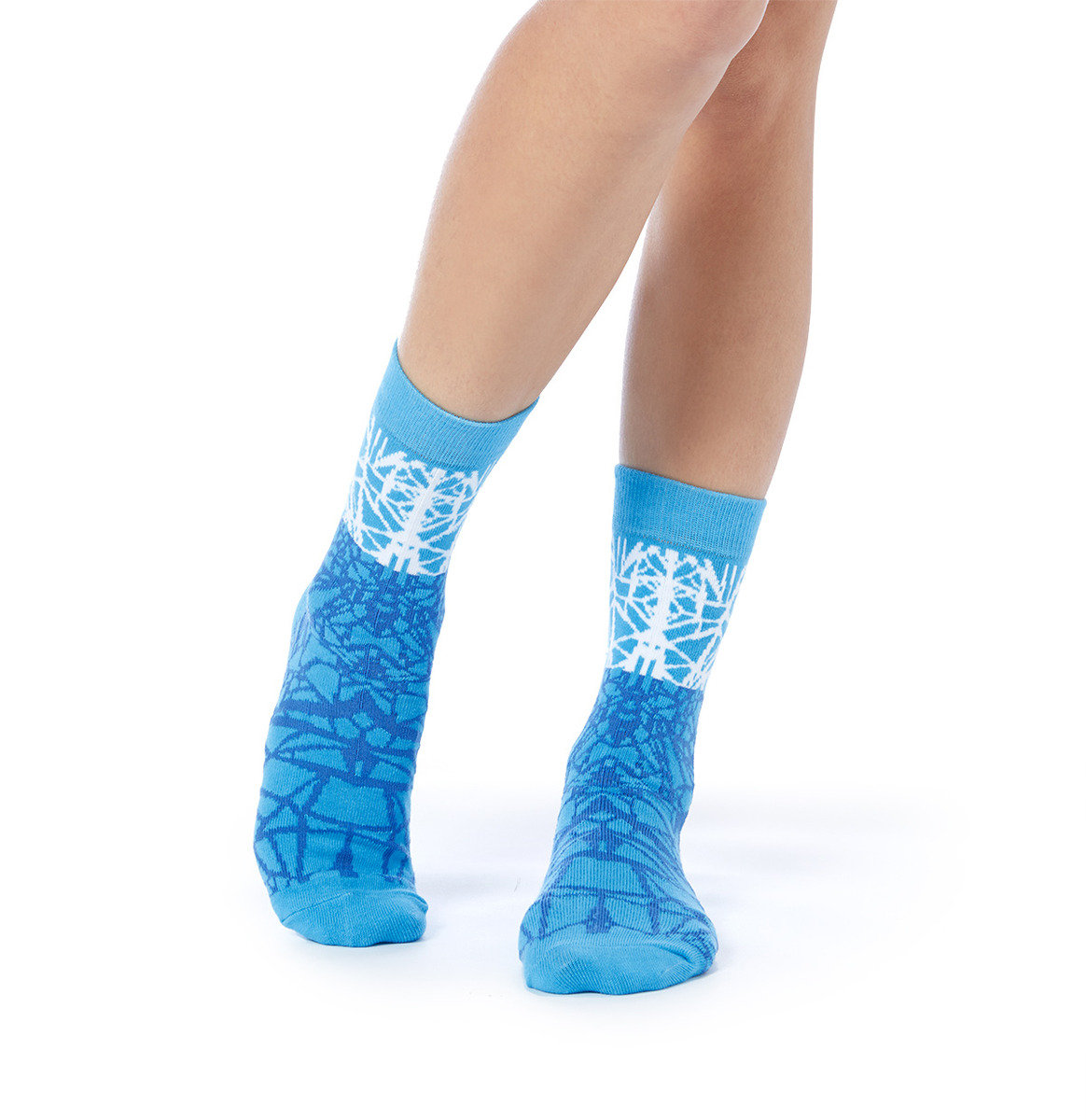 Honey x 112 mountainyam shattered glass crew socks