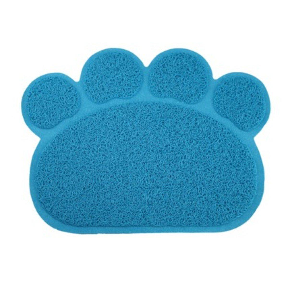 貓掌形廁所隔砂墊 (藍色)
