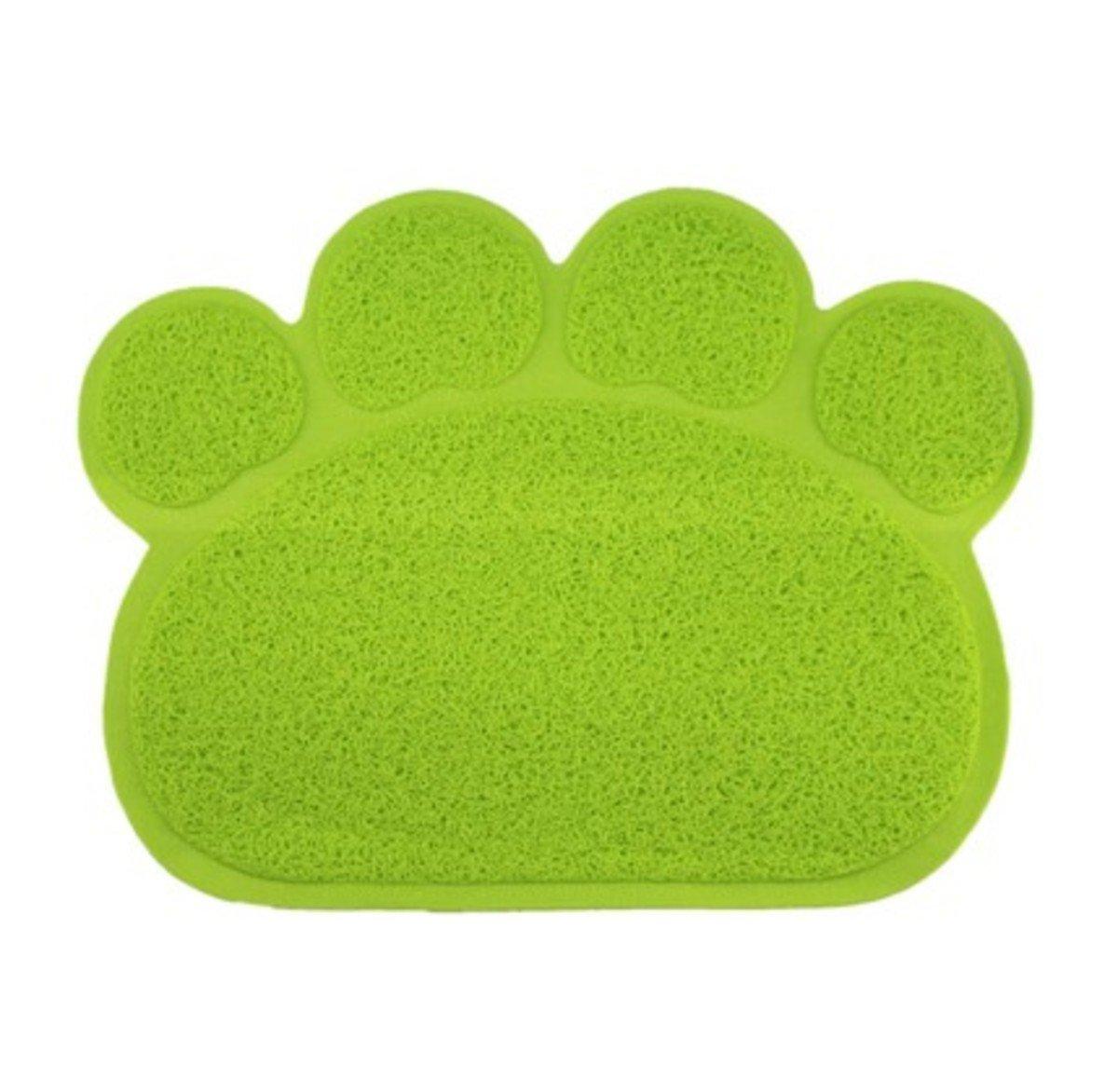 貓掌形廁所隔砂墊 (綠色)