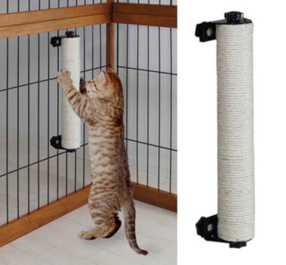 日本貓籠專用貓抓柱(可替換)