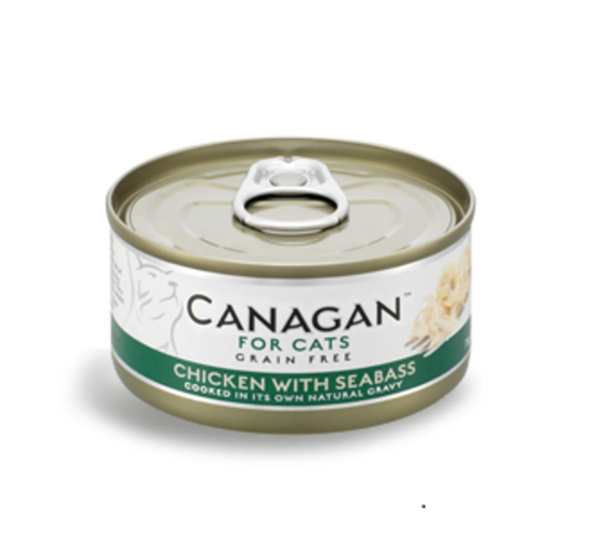 雞肉伴鱸魚貓罐頭 75g (12罐裝)