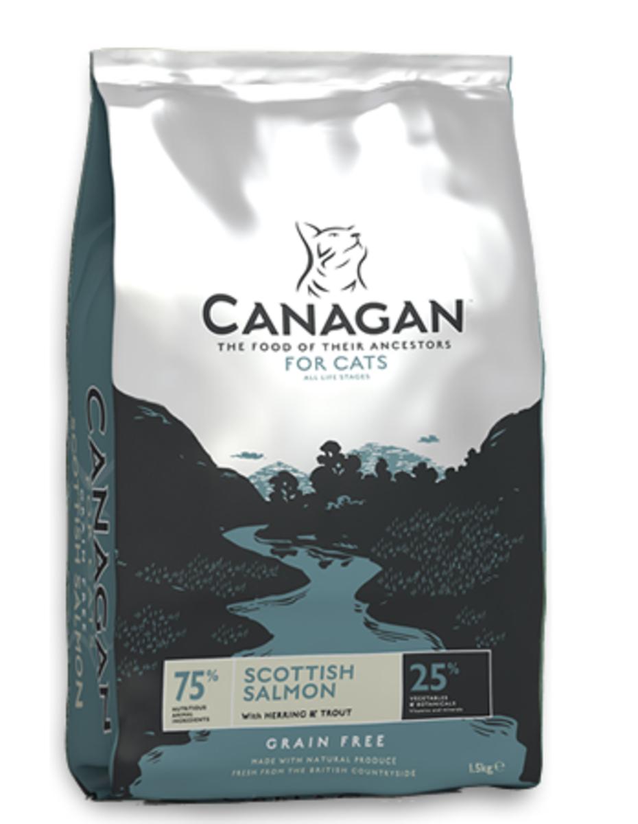 無穀物蘇格蘭三文魚配方全貓糧 1.5kg