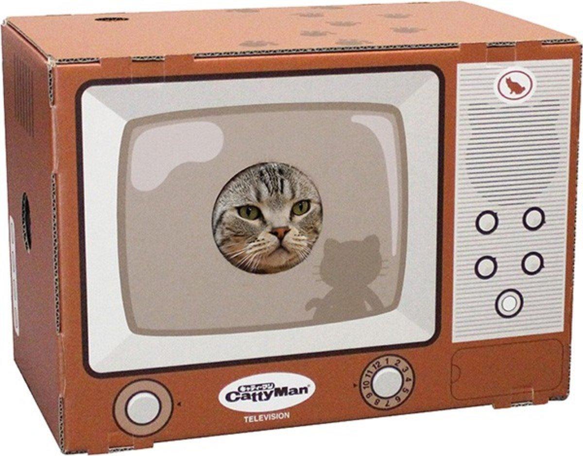 電視紙貓屋