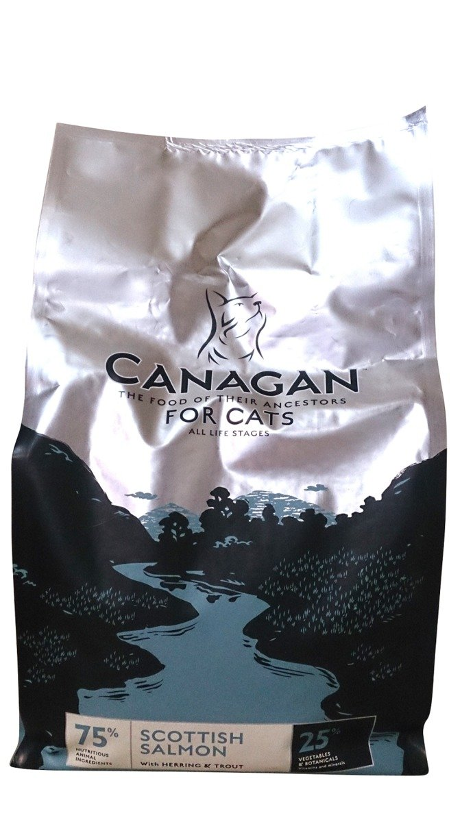 無穀物蘇格蘭三文魚配方全貓糧 4kg