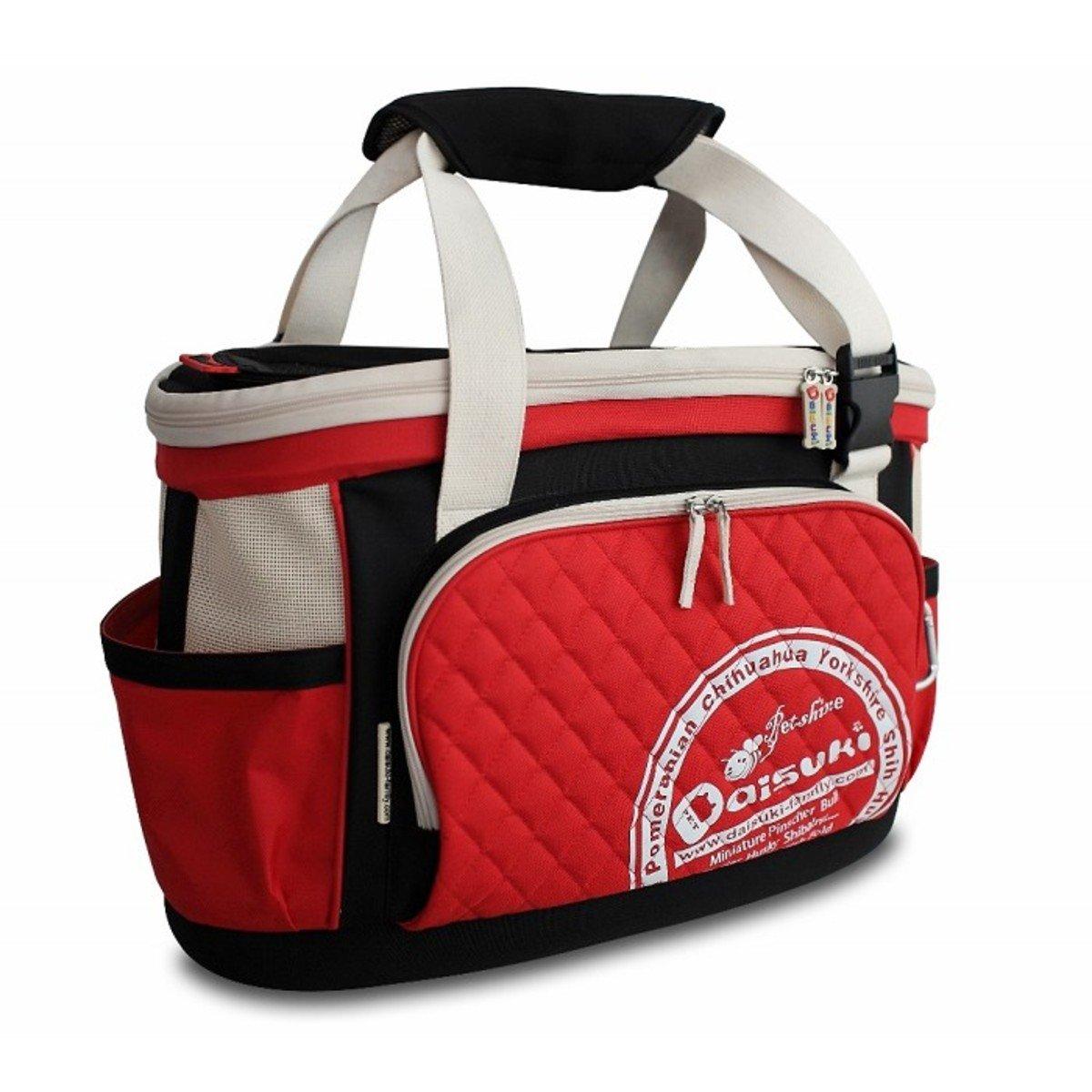 多功能寵物袋(紅色, 大碼)