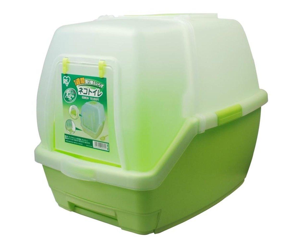 雙層防臭貓廁所(綠色)