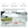 伊朗石榴+法國綠泥 天然有機潔面皂-2件貓形套裝