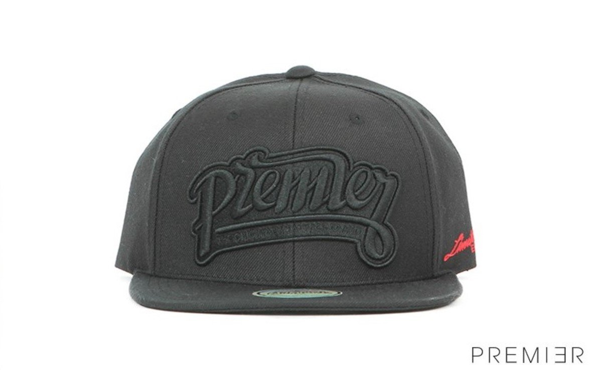 Premier 系列棒球帽_Premier (黑色)