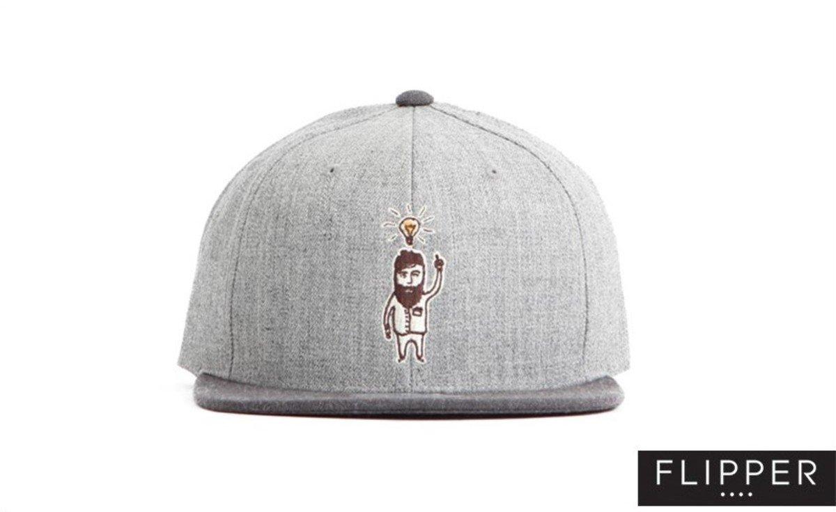 Flipper 系列棒球帽_Good Idea (灰色+炭灰色)