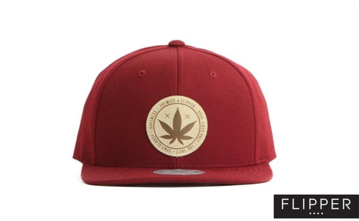 Flipper 系列棒球帽_Weed (酒紅色)