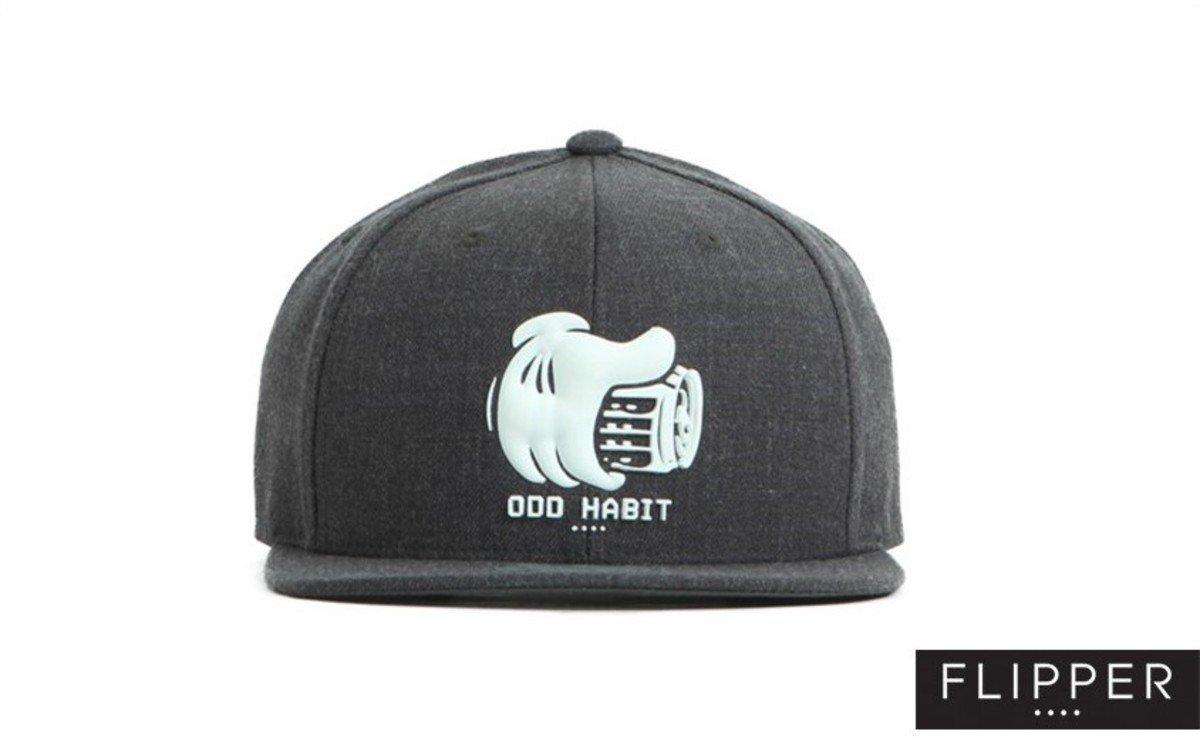 Flipper 系列棒球帽_Beerhand (炭灰色)