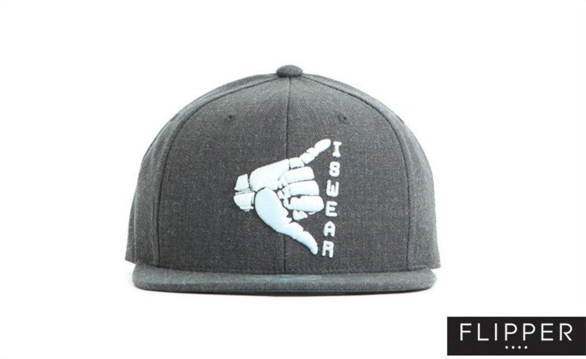 Flipper 系列棒球帽_Swear (炭灰色)
