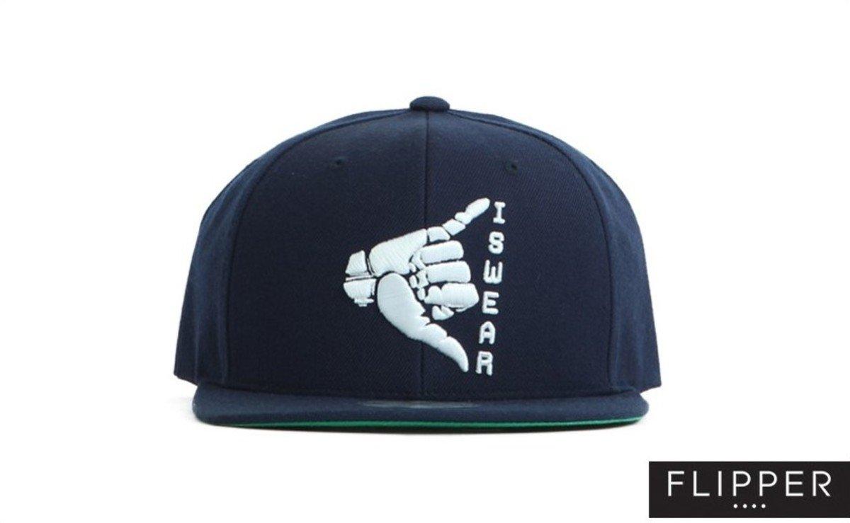 Flipper 系列棒球帽_Swear (軍藍色)