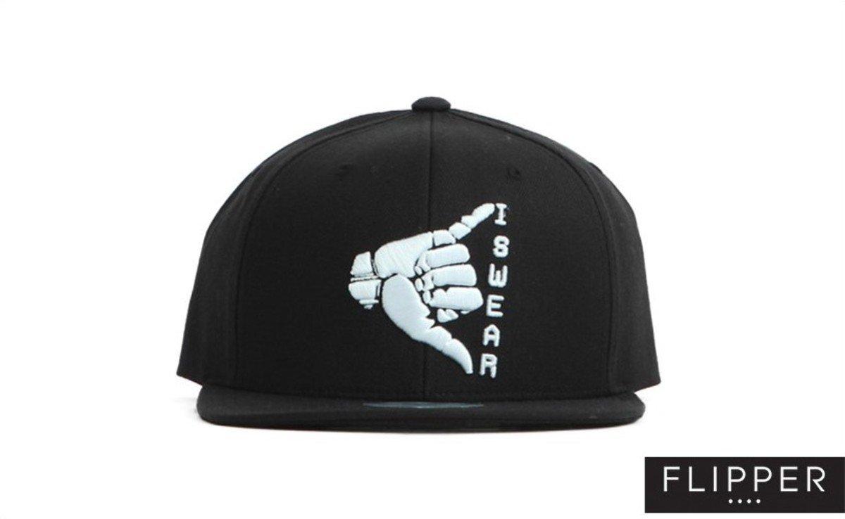 Flipper 系列棒球帽_Swear (黑色)