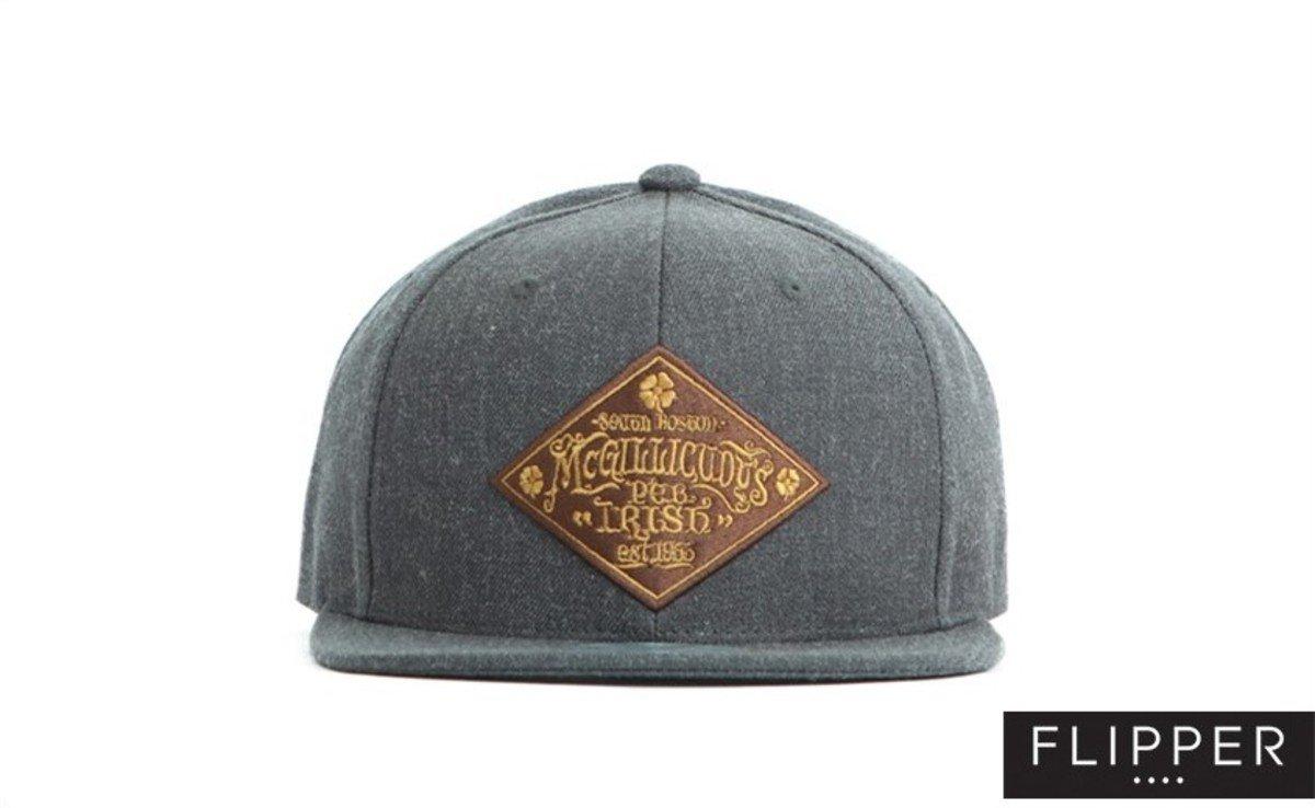 Flipper 系列棒球帽_Pub Irish (炭灰色)