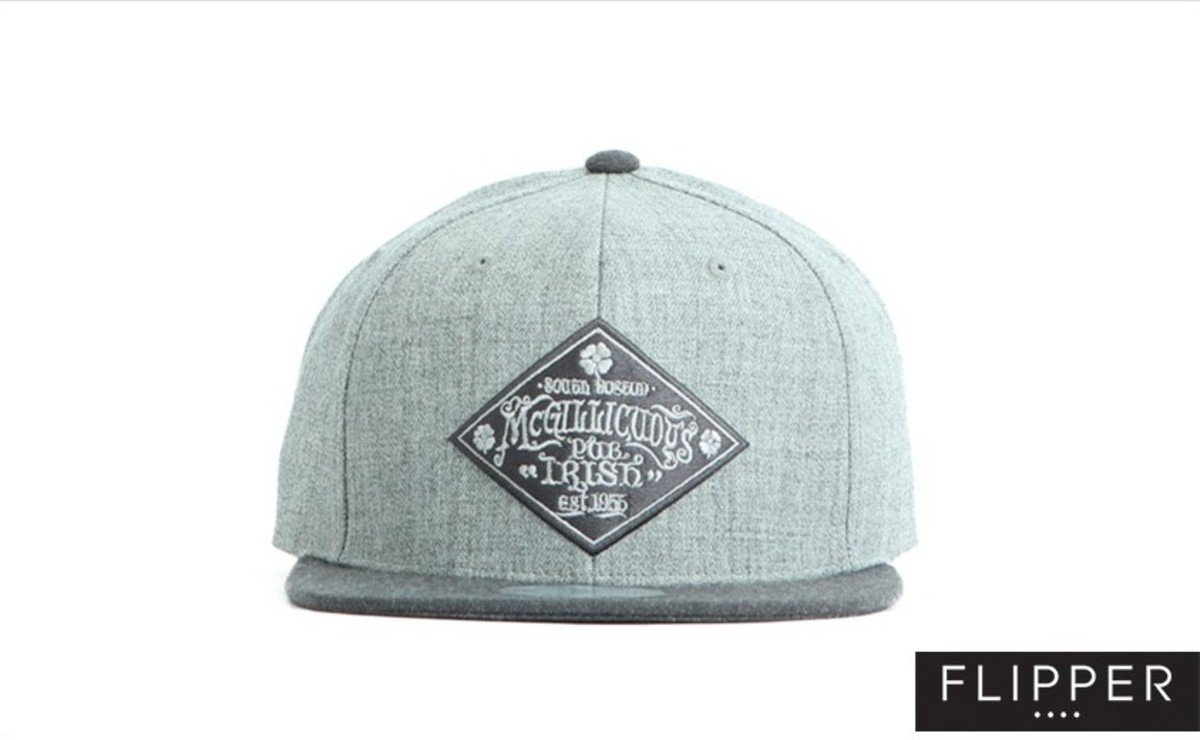 Flipper 系列棒球帽_Pub Irish (灰色+炭灰色)