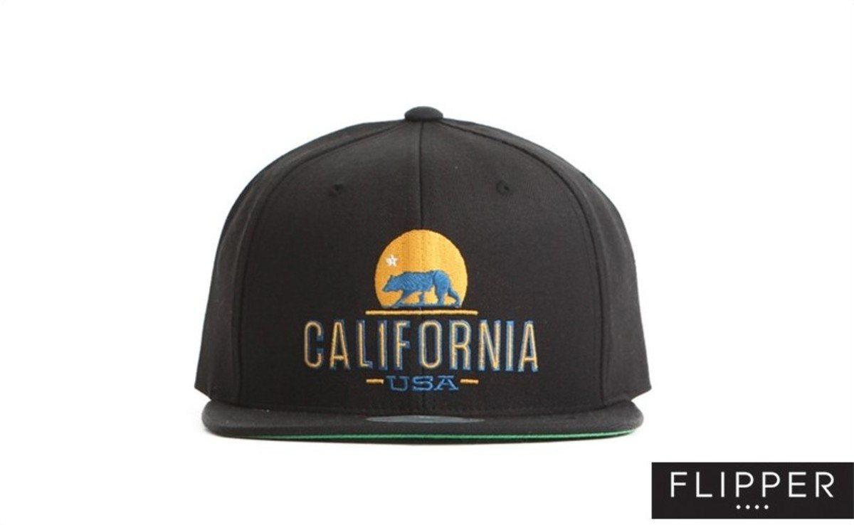 Flipper 系列棒球帽_California (黑色)