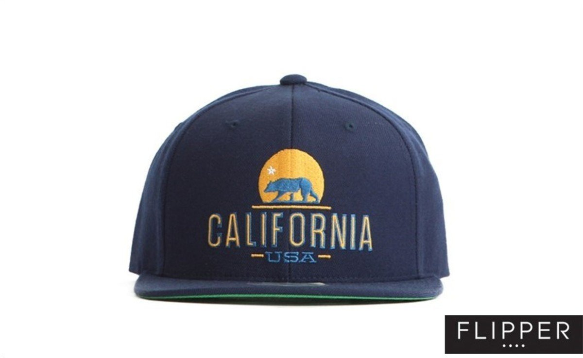 Flipper 系列棒球帽_California (軍藍色)