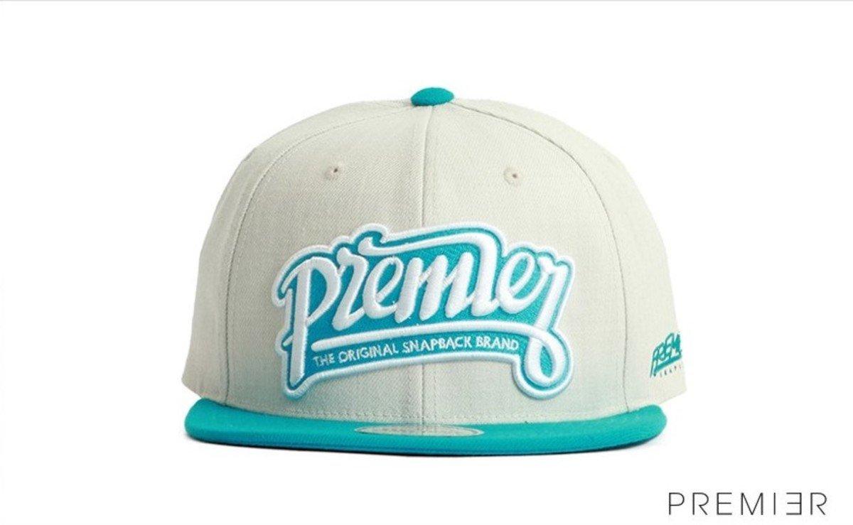 Premier 系列棒球帽_Premier (米色+淺藍色)