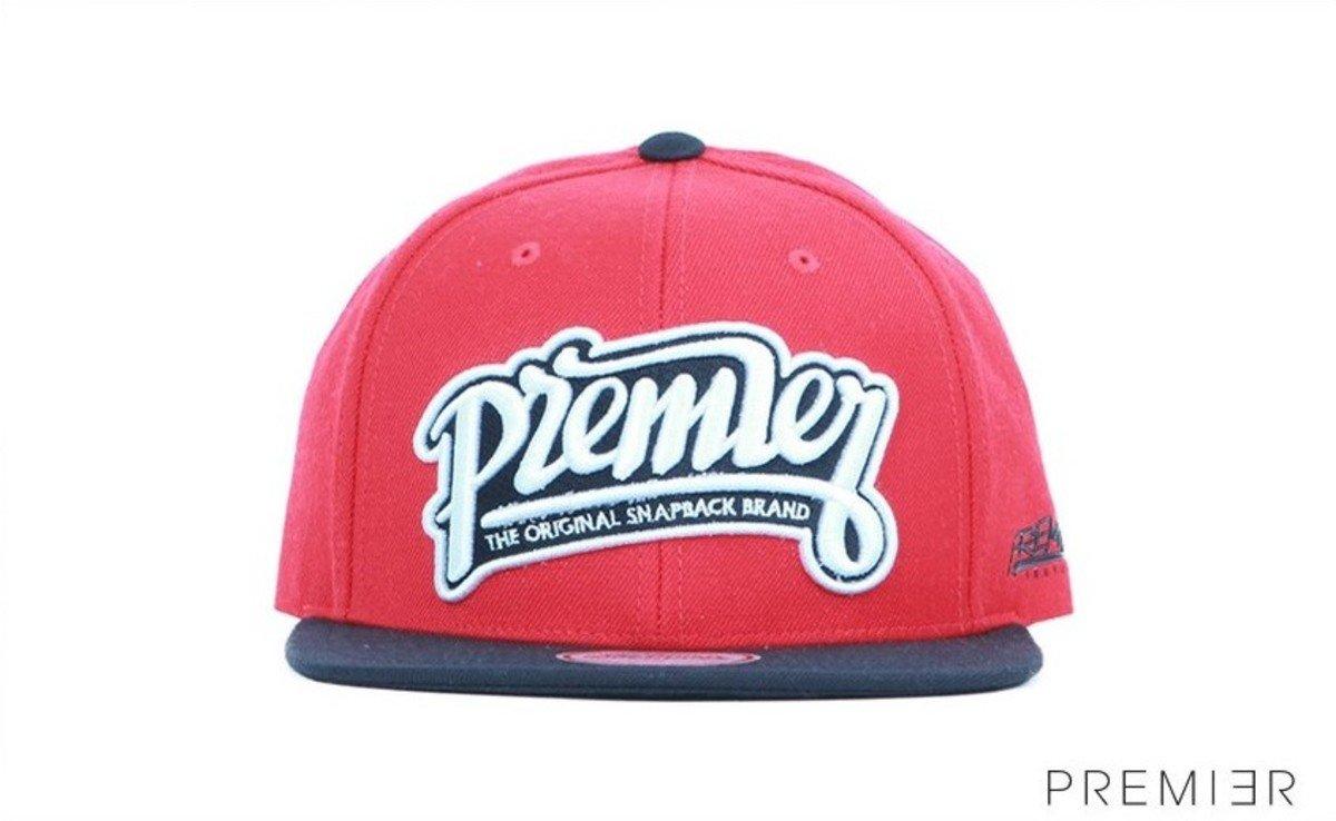 Premier 系列棒球帽_Premier (紅色+黑色)