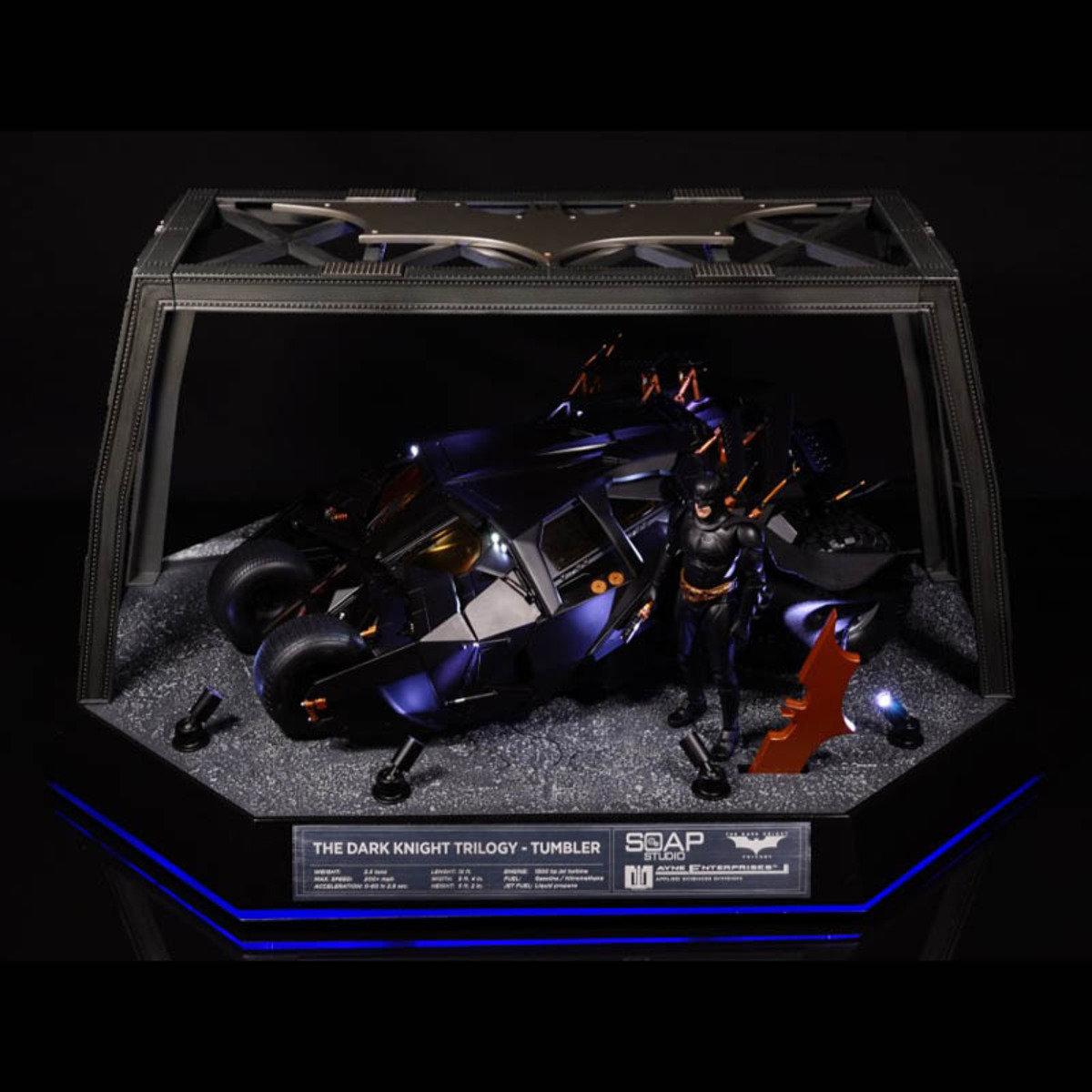 蝙蝠俠-黑夜騎士三部曲1:12智能遙控蝙蝠車(豪華版)